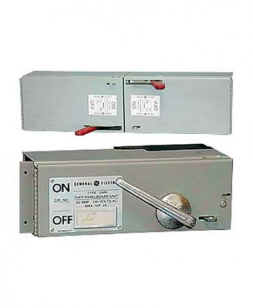 General Electric Type THFP/QMR Panel Board Switches